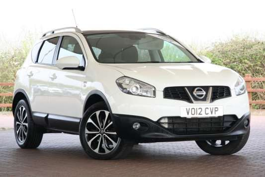 Used 2012 (12 reg) White Nissan Qashqai 1.5 dCi [110] N-Tec 5dr for sale on RAC Cars
