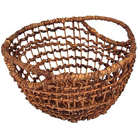 Abaca Basket Oval Small