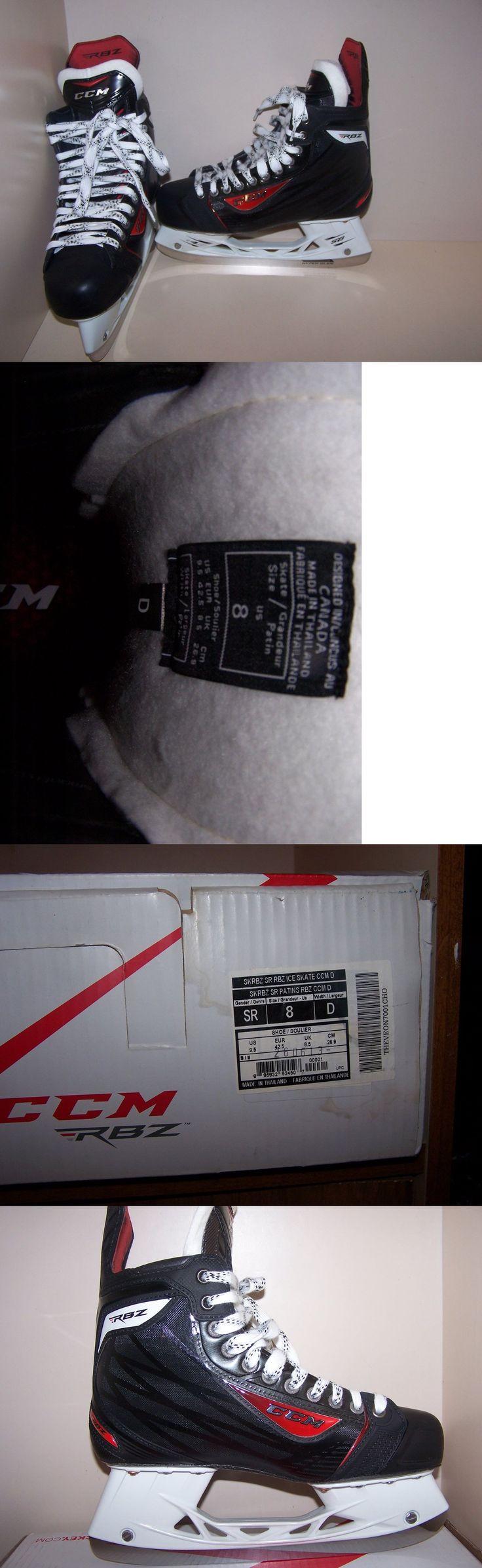Ice Hockey-Adult 20858: Ccm New Rbz Hockey Skates Size 8 D -> BUY IT NOW ONLY: $350 on eBay!