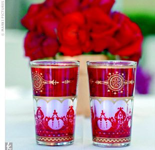 decorated votive holders