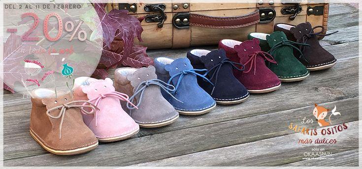 OkaaSpain - Zapatos bebé, zapatos niño, zapatos niña. Zapatería Infantil OkaaSpain fabricados en España