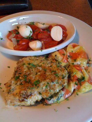 TGI Friday's Restaurant Copycat Recipes: Parmesan Crusted Chicken