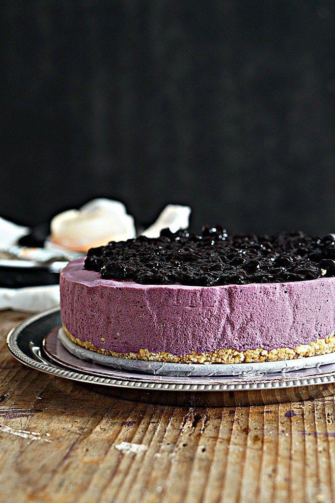 Mousse Cake ai Mirtilli... Una delizia che sa di bosco