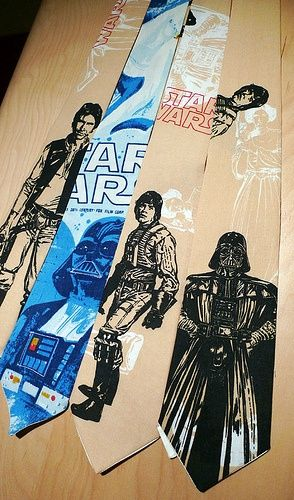 star wars ties Star Wars Ties Are Ideal for your Next Formal Affair on Alderaan