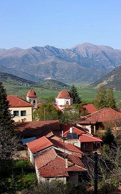 Levidi village, Arcadia (Peloponnese), Greece