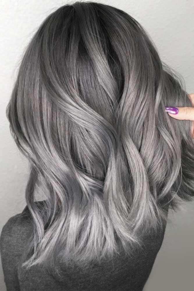 45 Spicy Spring Hair Colors To Try Out Now Lovehairstyles Silver Hair Dye Grey Hair Color Hair Styles