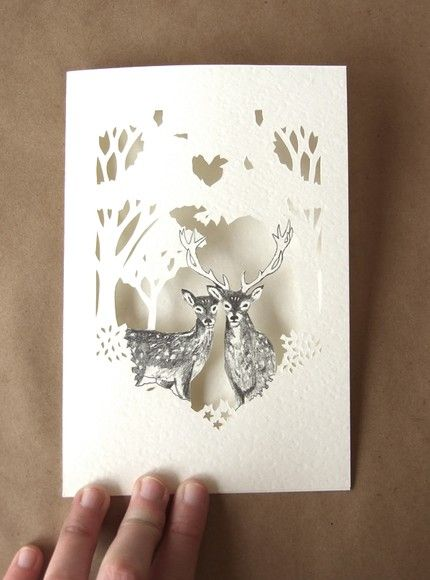 These would make cool wedding invites! or just regular cards :)