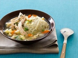 Guy Fieri Diners Drive-Ins and Dives Chicken Dumpling Soup HD pics