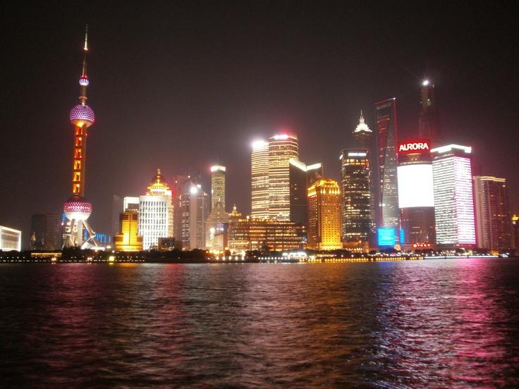 Day 13 - Shanghai Skyline