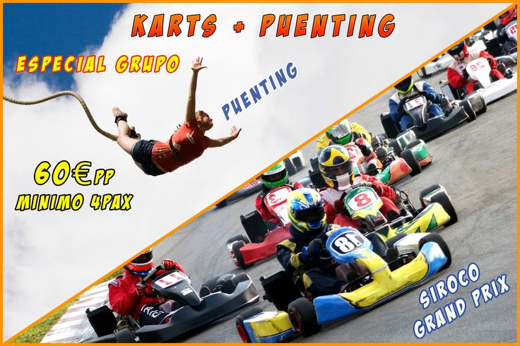 #karts #puenting #sirocoaventuras #region de murcia