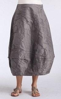 Silk skirt, Oska