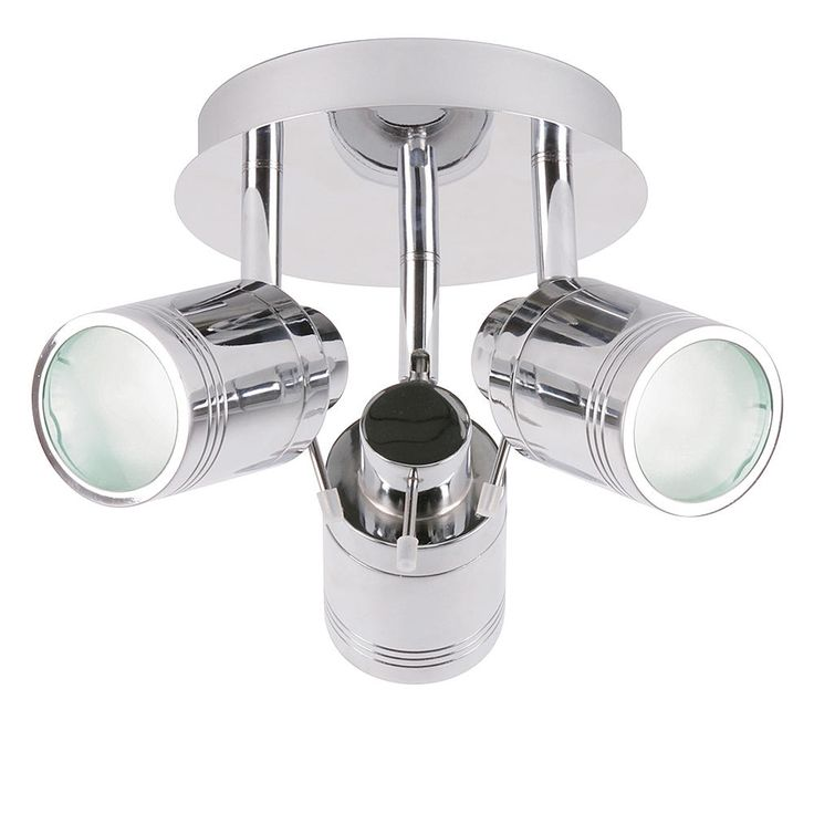 The Hugo 3 Light Bathroom Spotlight With Gl Diffusers From Litecraft Free Uk Delivery On All Lighting