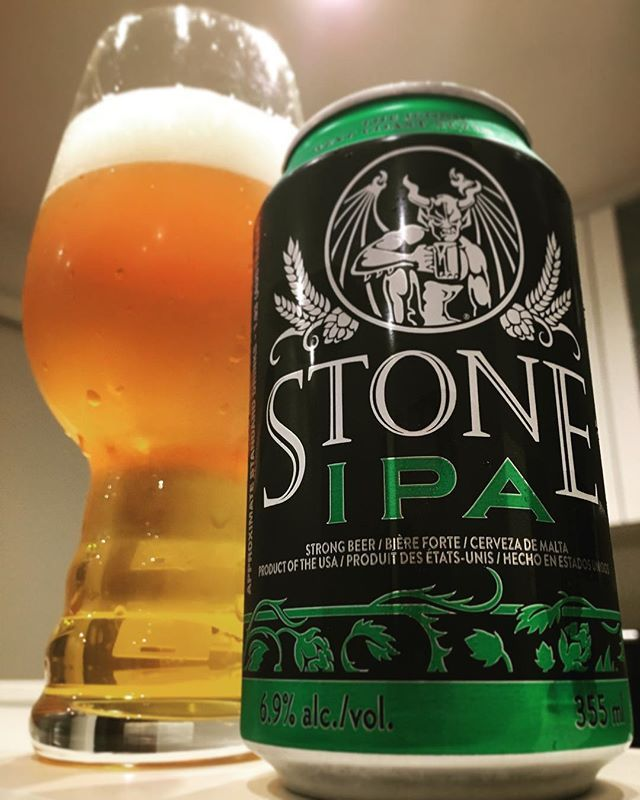 Stone IPA by @stonebrewingco. Great One!! #stoneipa #stonebrewing #ipa #indianpaleale #sdbeer #sandiegobeer #westcoastipa #craftbeer #craftbeerporn #gatherbeers #sandiego #sandiegoconnection #sdlocals #sandiegolocals - posted by gather beers https://www.instagram.com/gather_beers. See more San Diego Beer at http://sdconnection.com
