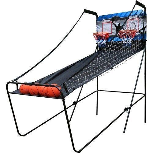 New-2-Player-Indoor-Hoop-Backboard-Basketball-Game-Room-Set-Kids-Court-Arcade