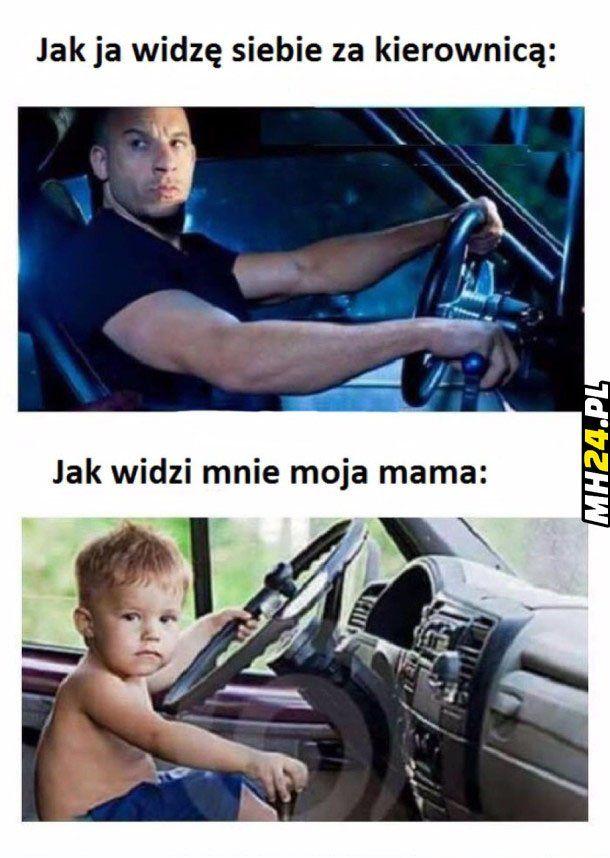 Jak widzi mnie moja mama za kierownicą