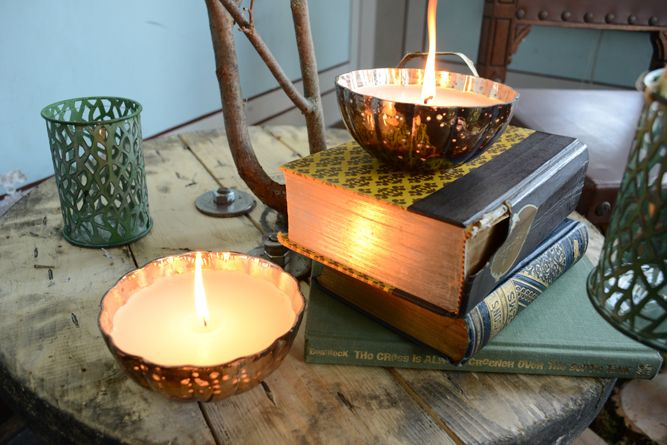 The Mercury Candles fill your home with scents of lavender and vanilla.