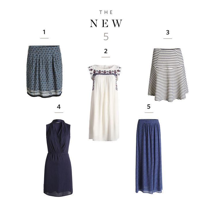 Stripes, wrapover, maxi, ethnic chic, blue, white or both? 5 Styles – infinite options!