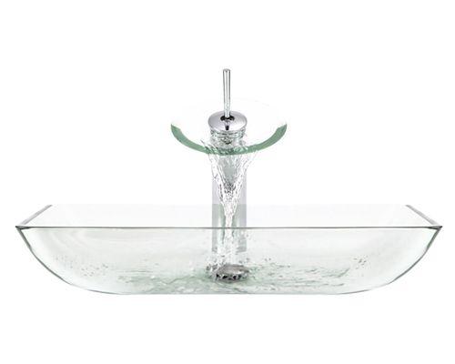 G10-Sky Glass Vessel Sink