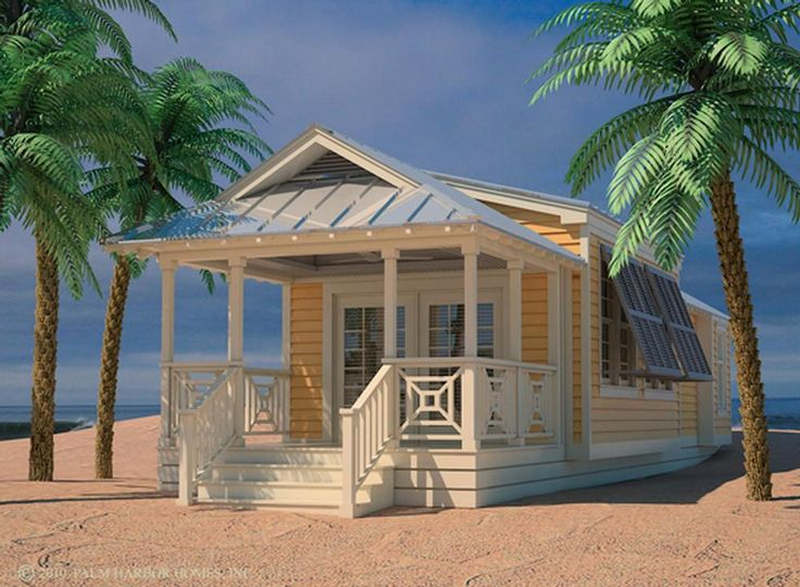 Palm Harbor Plant City Is Proud To Introduce Out New Series Of 499 Square Foot HUD Park Models I Live The Placement And Color House It Really Has