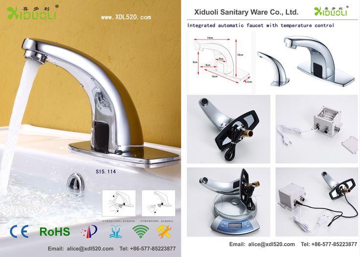 20 best Automatic faucet images on Pinterest   Plumbing stops, Aqua ...