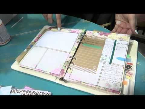 CHA2015 - Marion Smith Designs Introduces Their Planner - YouTube