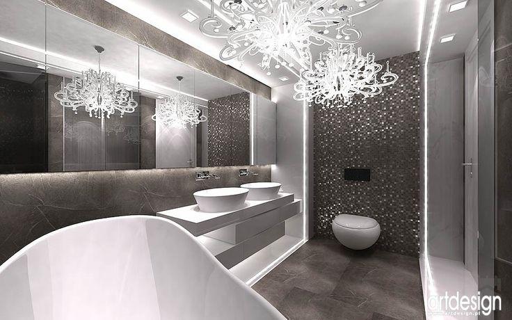 projekt łazienki - Łazienka - Styl Nowoczesny - ARTDESIGN architektura wnętrz