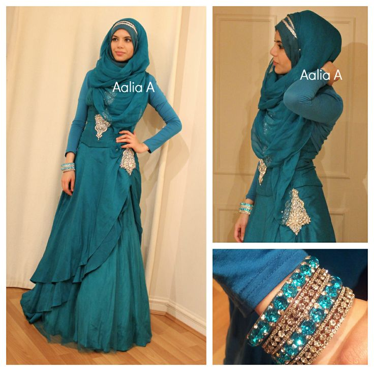 cool Muslimah. love the color!