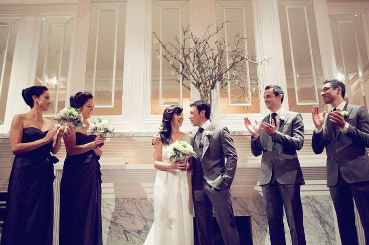 Love the bridesmaid dresses