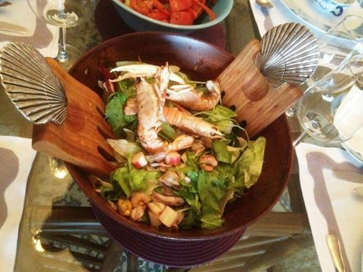 seafood salat...