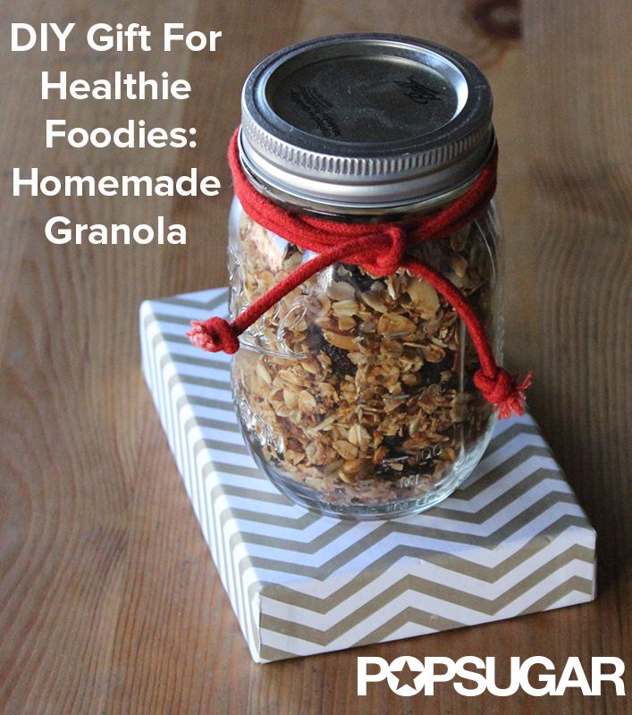 14 best granola bar packaging ideas images on pinterest packaging diy mason jar gift for healthy foodies homemade granola solutioingenieria Choice Image