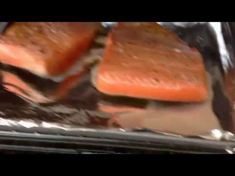 How to cook frozen salmon fast and delicious.  via YouTube Capture.  http://LIFEWAYSVILLAGE.COM/cooking/how-to-cook-frozen-salmon-fast-and-delicious/
