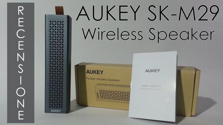Recensione Speaker AUKEY SK-M29. Altoparlante portatile Bluetooth. ITA