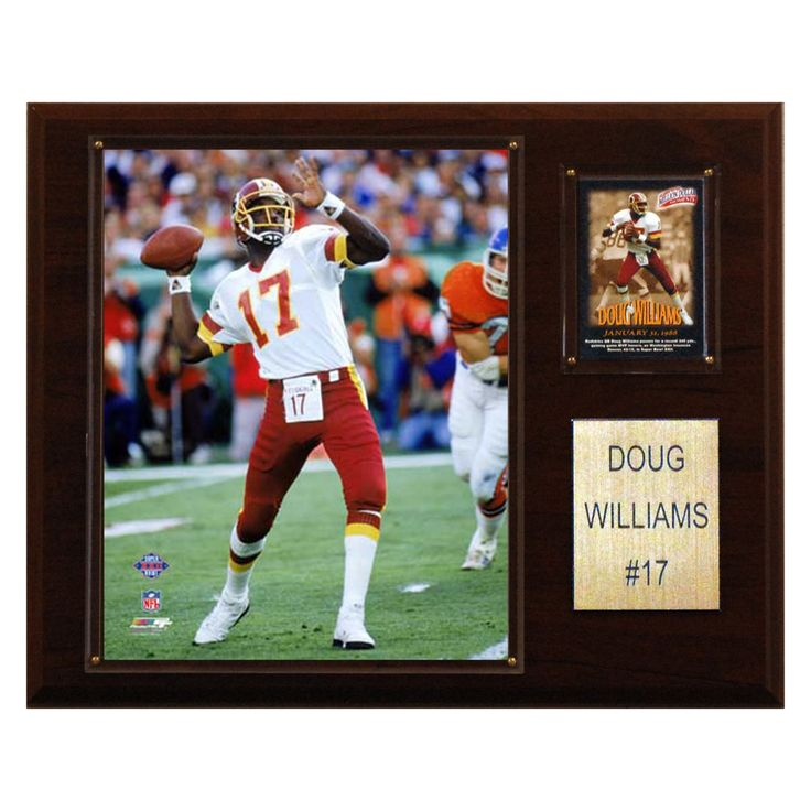 NFL 12 x 15 in. Doug Williams Washington Redskins Player Plaque - 1215DOUGW