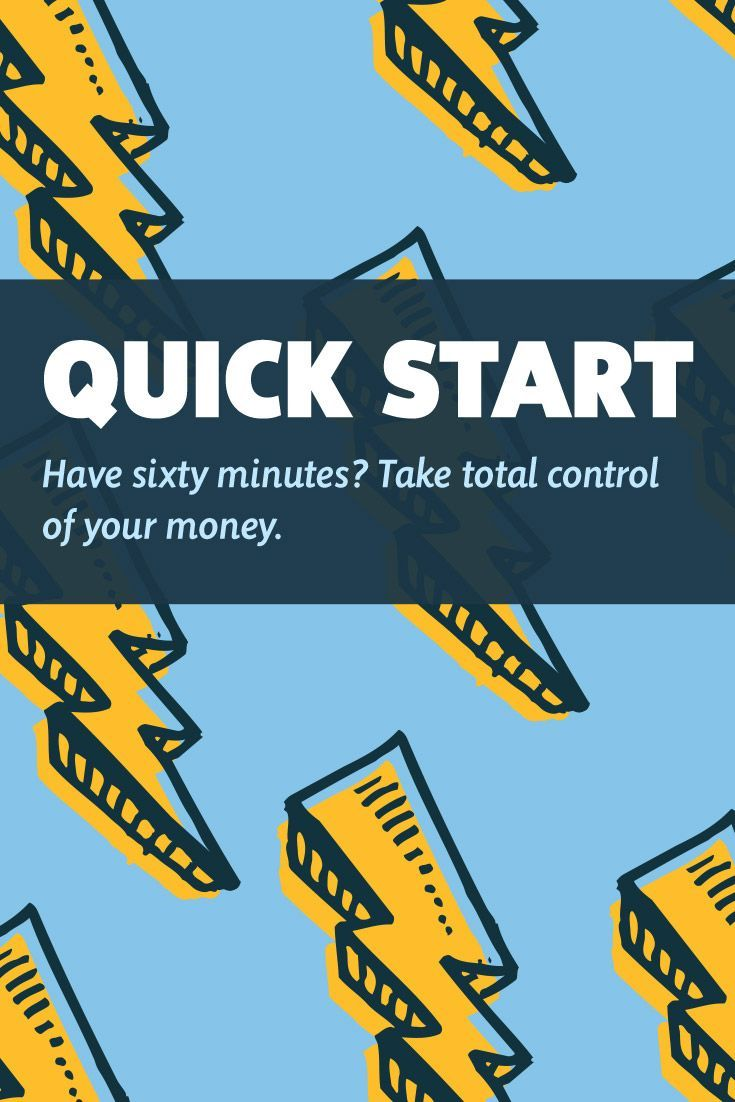 Have sixty minutes? Take total control of your money. Budgeting tips and YNAB.
