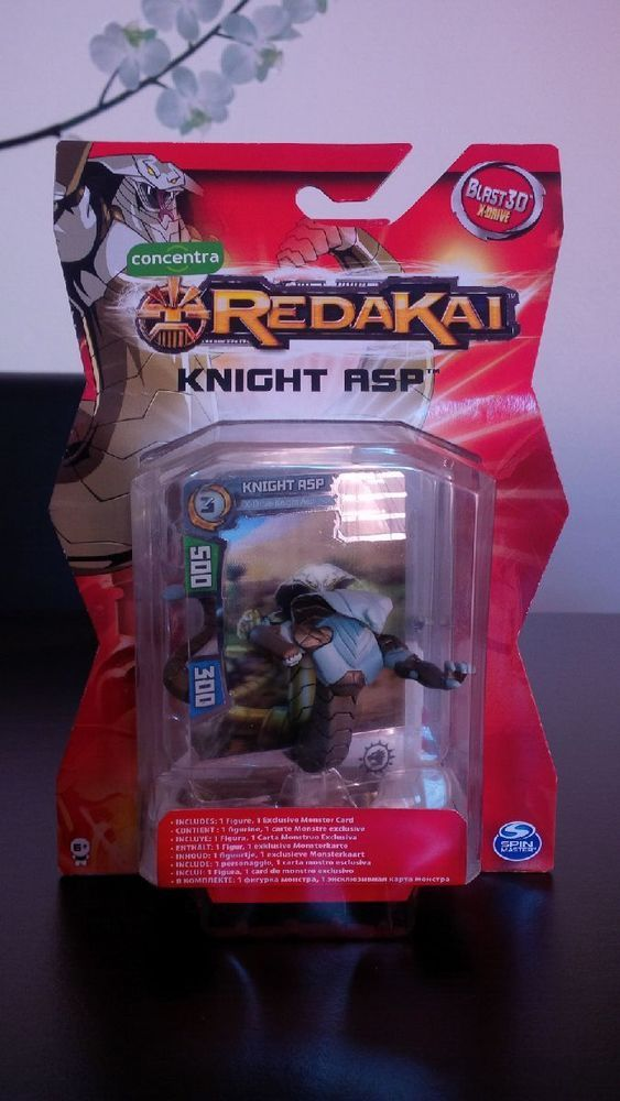 Redakai - 3 Figures + Cards Blast 3D x-drive Concentra NEW + a Gold Pack #concentra