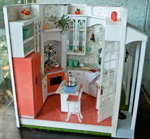 Mini Kitchen Room Box: 156 Best Images About Miniatures Ideas Roomboxes On