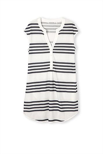 CR - AUG 2014 - Print Stripe Nightie