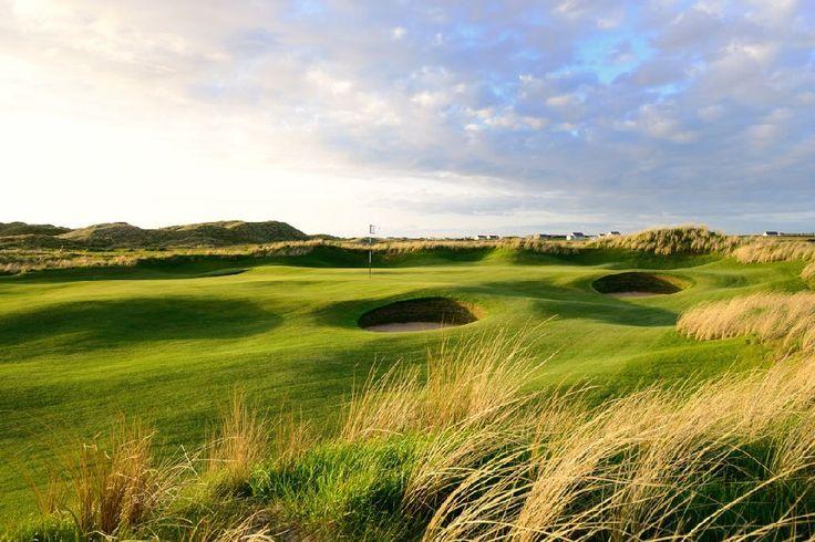 Club de Golf Links de Trump Doonbeg dans le comté de Clare, Irlande