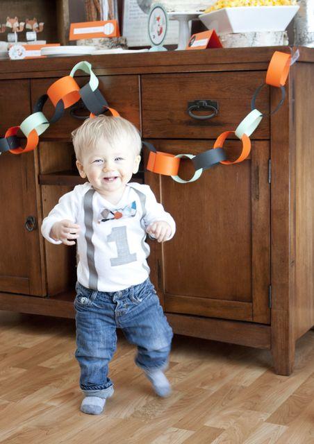 Mr. Foxy Fox Birthday Party Ideas // #Fox #1stBirthdayparty #LittleMan