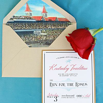The Invitations - A Kentucky Derby-Themed Party - Southern Living