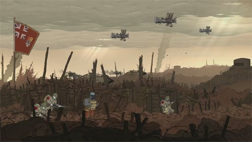 Valiant Hearts Comic Free for Gamers Who Own Valiant Hearts on iOS