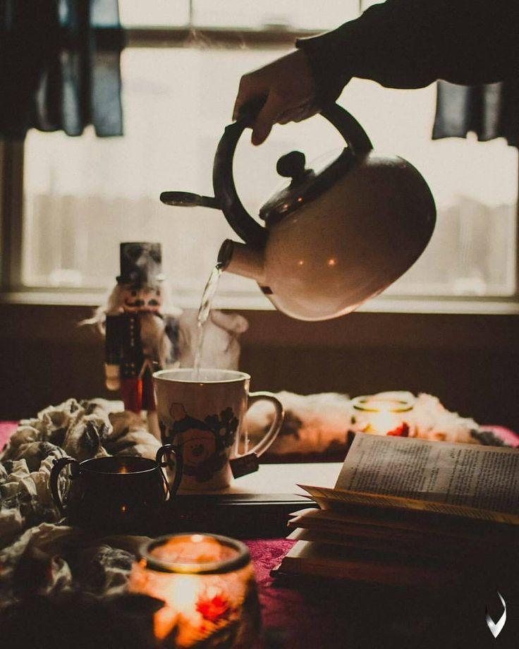 Über Bücher und Tee und Lektorat – Bauernhaus: Guten Morgen … – #  – Herz