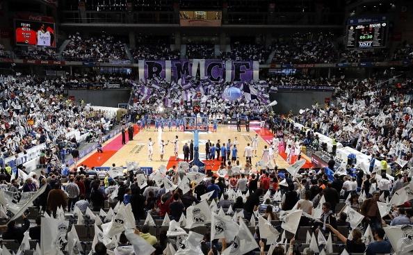 RMCF - Tifo Palacio de los deportes 12.04.13