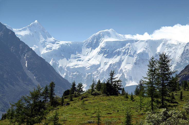 Belukha Mountain on the Kazakhstan-Russia Border