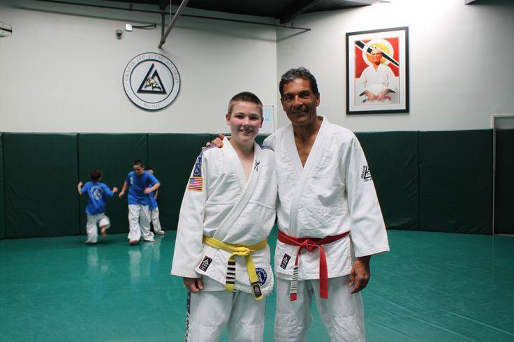 Me with grandmaster Rorion Gracie