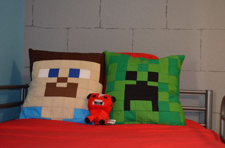 17 best images about minecraft bedroom for my boys on - Minecraft creeper and steve ...