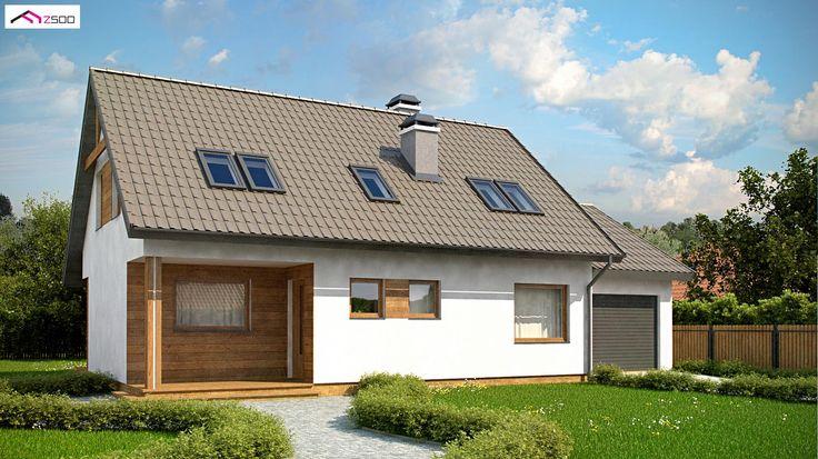 Z66 GP to wyjątkowy dom z kategorii projekty domów jednorodzinnych