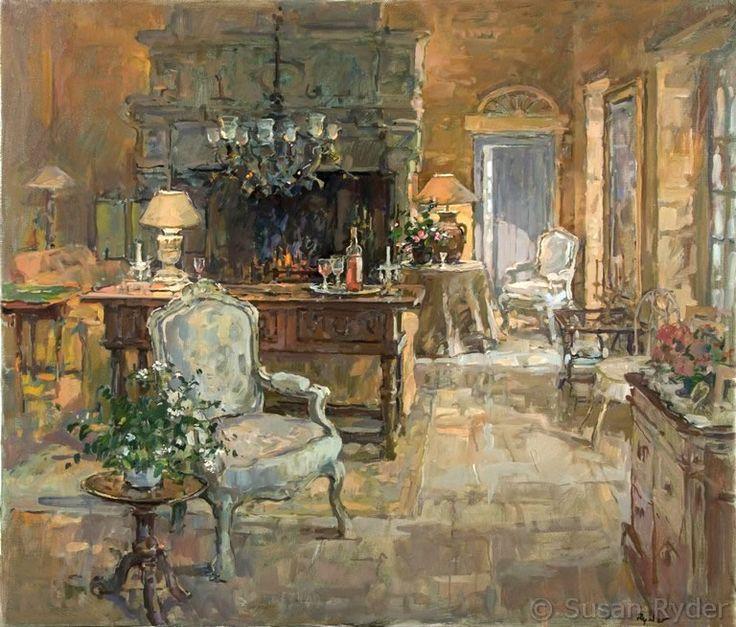 Nice Susan Ryder, RP, NEAC, Artist And Painter   Interiors And Exteriors