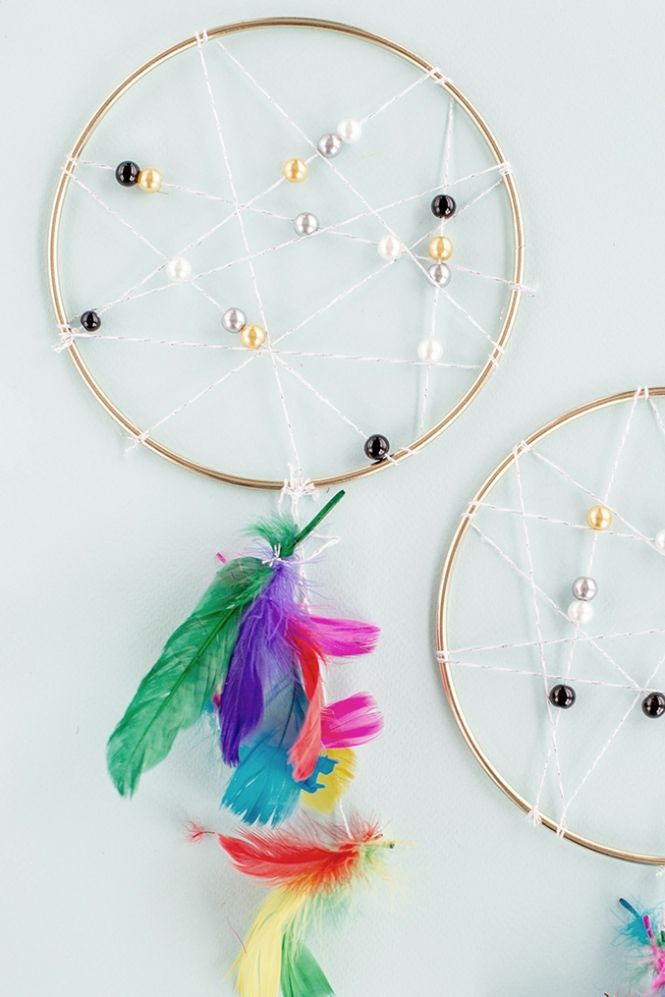 How To Make Dream Catchers Easy 115 Best Dream Catcher And Other Mobile Images On Pinterest  Wall