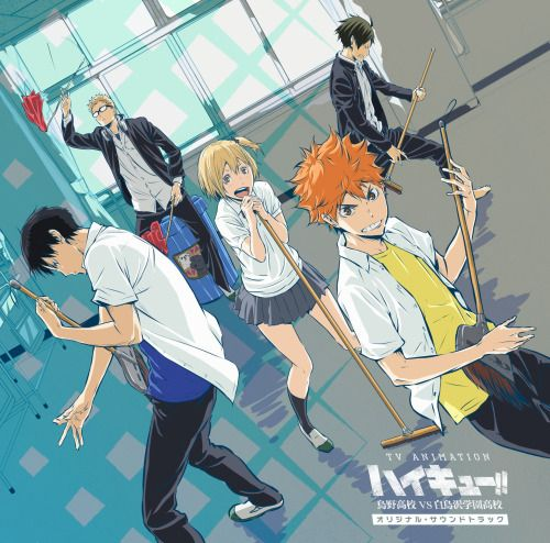 """""""The awesome CD jacket illustration for the anime S3 OST revealed."""" 